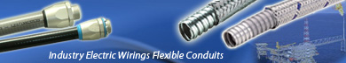 Flexible Metal Conduits For Offshore & Heavy industrial Electrical Wirings